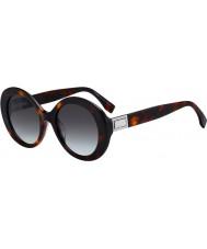 Fendi Ladies ff0293 s 086 ib 52 óculos de sol