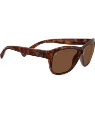 Serengeti Gabriella tartaruga vermelha brilhante polarizada motoristas óculos de sol