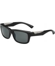 Bolle Jude preto brilhante polarizada TNS óculos de sol
