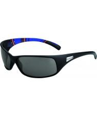 Bolle Recoil mate listras azuis modulador óculos polarizados cinza