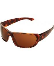 Cebe Trekker tartaruga brilhante 1500 óculos de sol marrons