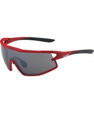 Bolle B-rocha mate óculos arma TNS vermelho e preto