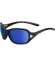 Bolle óculos de sol azuis-violeta pretos brilhantes Solden