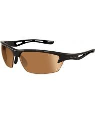 Bolle Parafuso brilhantes modulador óculos de sol pretos golfe v3