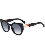 Fendi Facetas ff 0151-s 807 jj óculos de sol pretos