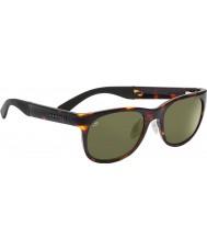 Serengeti Milano tartaruga escura óculos polarizados 555nm