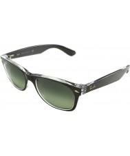 RayBan Rb2132-52 wayfarer topo bronze escovado novo no transparentes 6143-71 óculos de sol