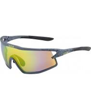 Bolle B-rock matt fumaça modulador óculos de sol esmeralda marrom